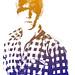 Stamp self portrait. by Rob Ellis'