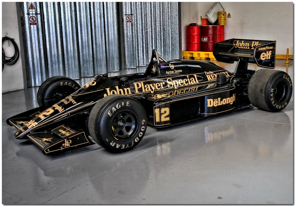 on black john player special team lotus ayrton senna. Black Bedroom Furniture Sets. Home Design Ideas