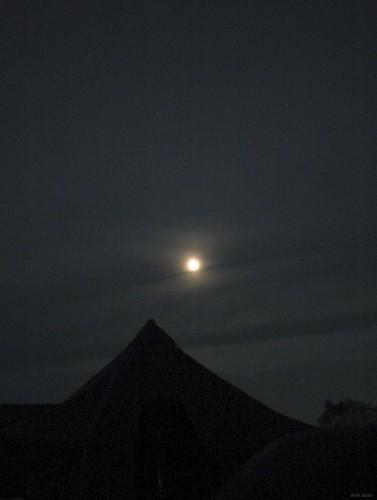 moon film night analog zeiss 1936 35mm tents kodak tripod noflash jena fullmoon contax nostalgia ww2 vintagecamera existinglight zeissikon gold200 illbeseeingyou jostafford contaxii gijo zeissf155cmsonnarlens
