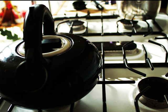 teapot on stove (2008)