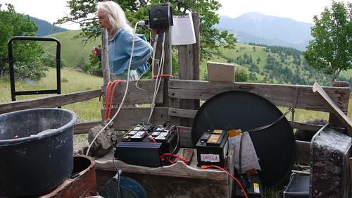 Dannie. baterias para los páneles solares
