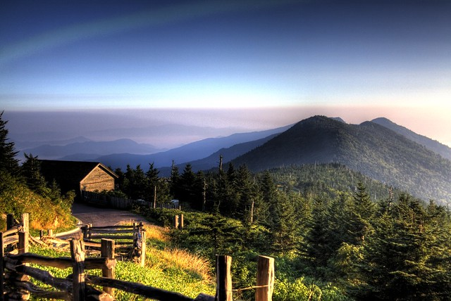 Sunrise @ Mt Mitchell