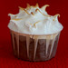 cherry chili chocolate cupcake