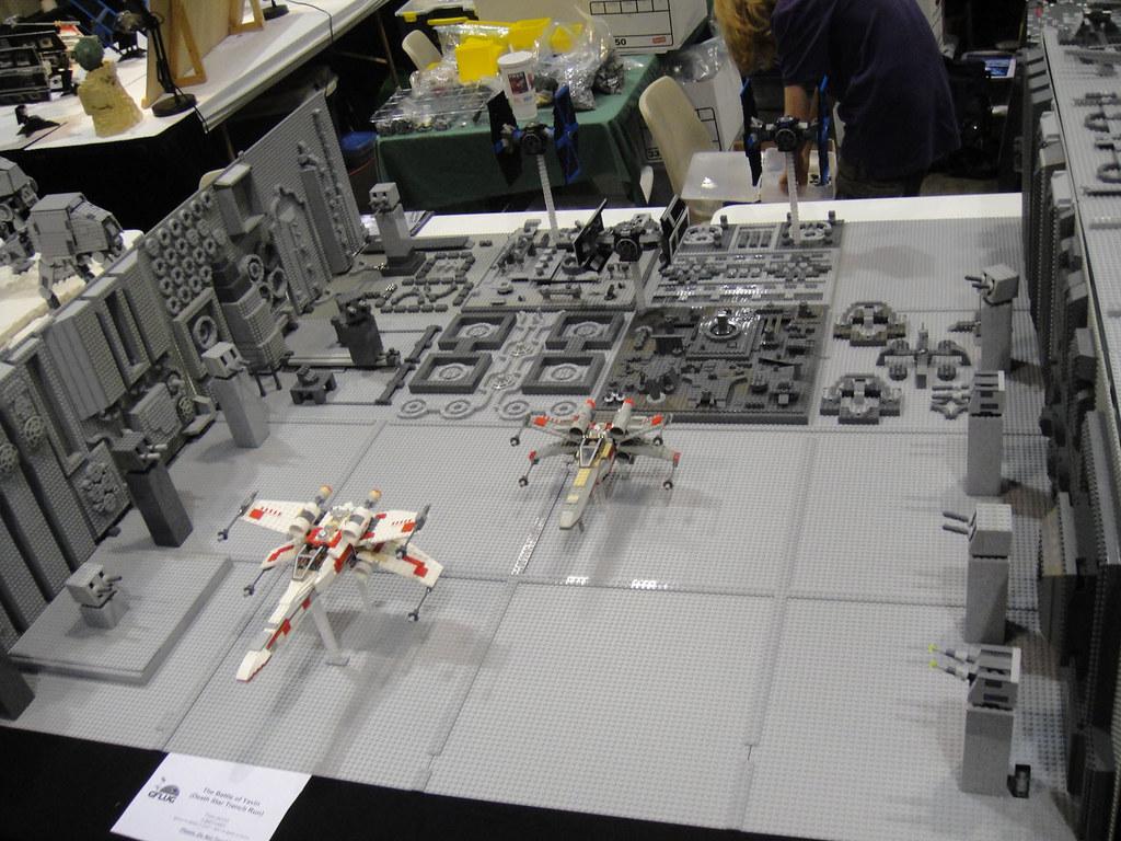 Star Wars Celebration V Lego Diorama Death Star Trench