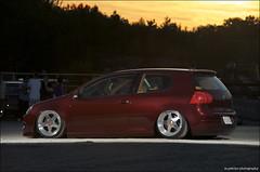 family car(0.0), automobile(1.0), automotive exterior(1.0), renault clio renault sport(1.0), wheel(1.0), volkswagen(1.0), vehicle(1.0), automotive design(1.0), volkswagen golf mk6(1.0), volkswagen gti(1.0), volkswagen golf mk5(1.0), city car(1.0), compact car(1.0), bumper(1.0), land vehicle(1.0), hatchback(1.0), volkswagen golf(1.0),