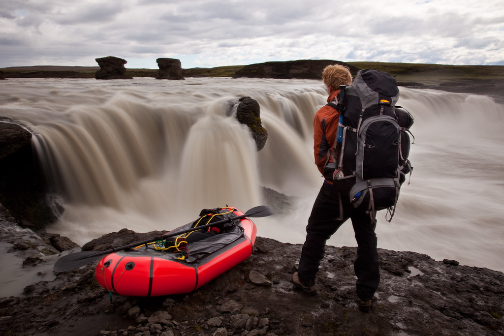 Packrafting the River jrs