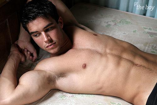 hot latino male model