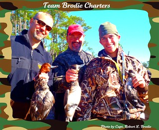 SOUTH MISSISSIPPI DIVING DUCK HUNTING - Photo by Capt. Robert L. Brodie