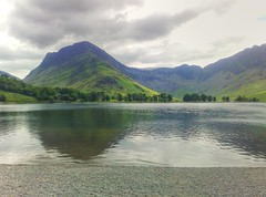 Buttermere, Fleetwith Pike and Haystacks Cumbria