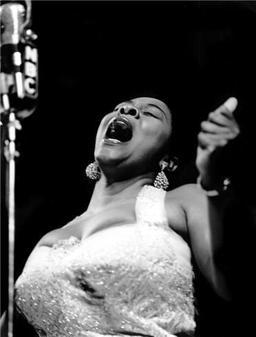 Dinah Washington, by Herman Leonard