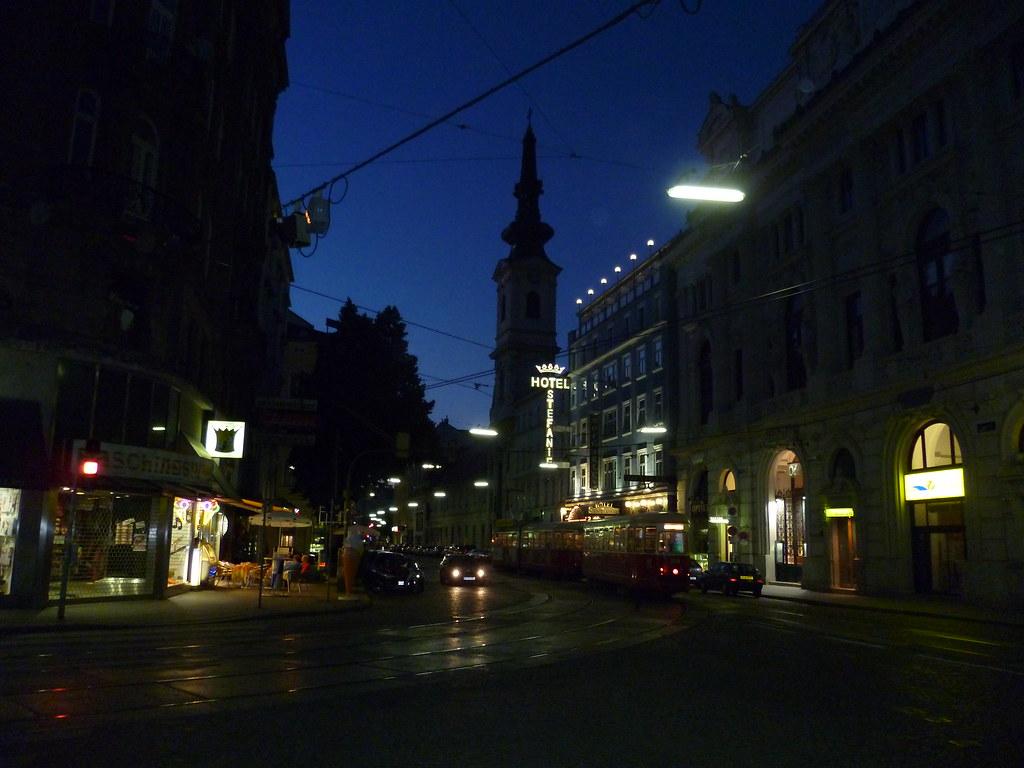 Wien, 2. Bezirk, Taborstraße (Hotel Stefanie)