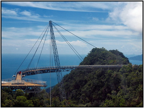 Skybridge at Gunung Mat Chinchang