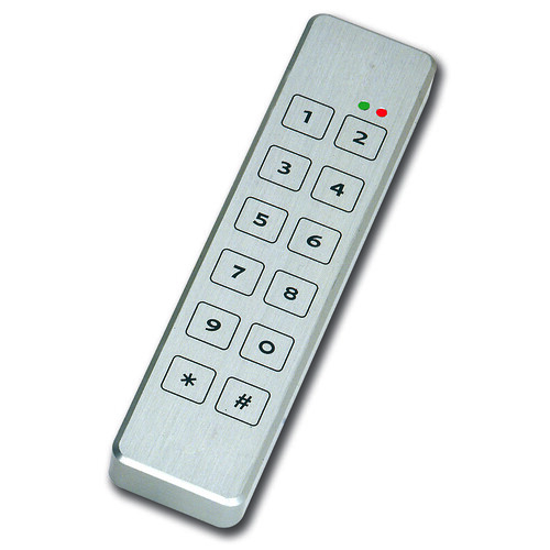 Access control door security keypads