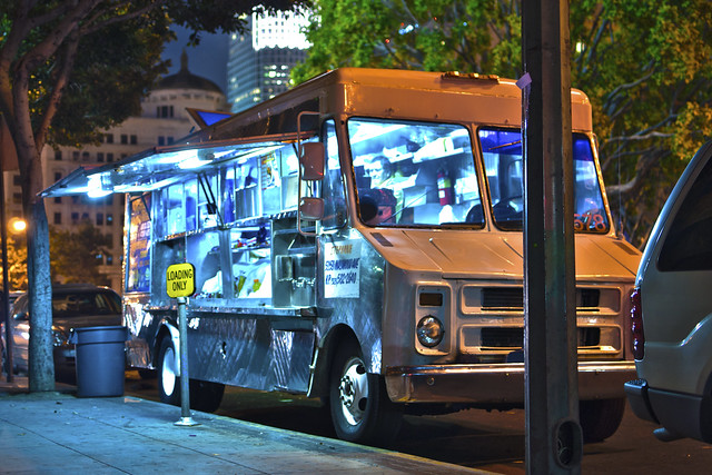 Street Food in Los Angeles: Taco truck