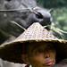 328 The farmer and his friend--Xiapu , Fujian Province ,China