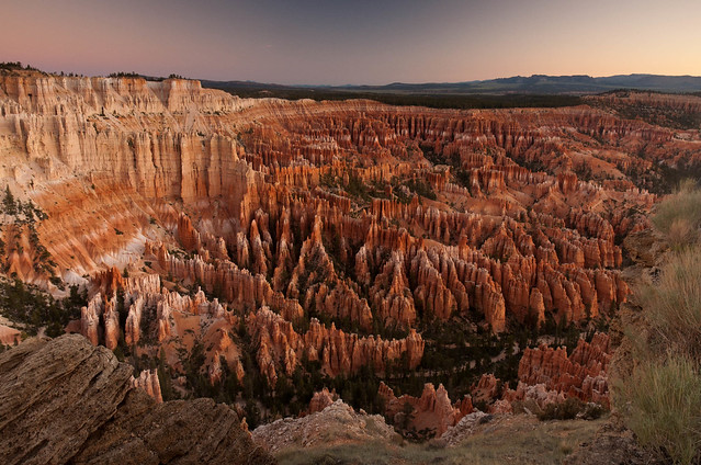 Twilight at Bryce Point