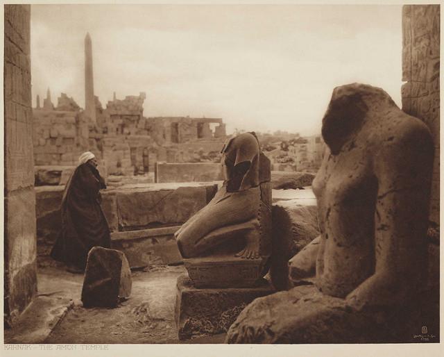 Karnak, The Amon Temple, by Lehnert & Landrock c.1925
