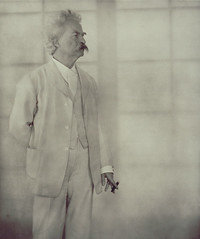 Mark Twain, by Alvin Langdon Coburn 1908