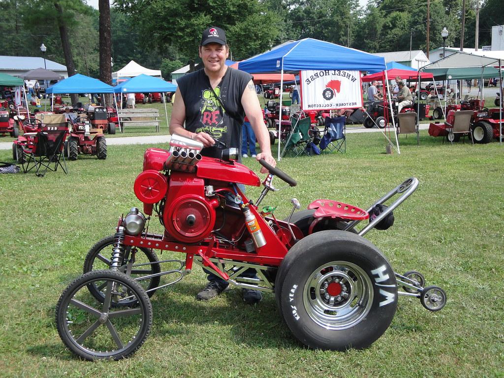 Garden Tractor Drag : Lawn tractor drag races wheel horse tractors redsquare
