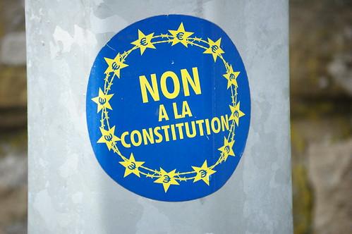 Non a la constitution