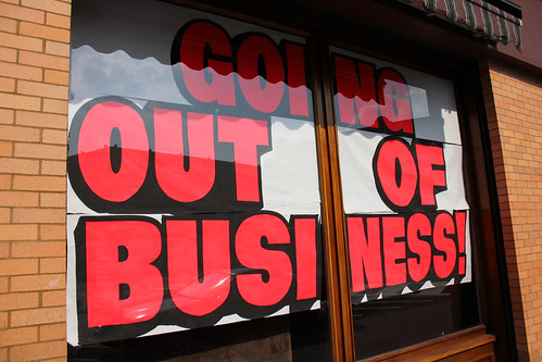 Going out of Business by watz on Flickr