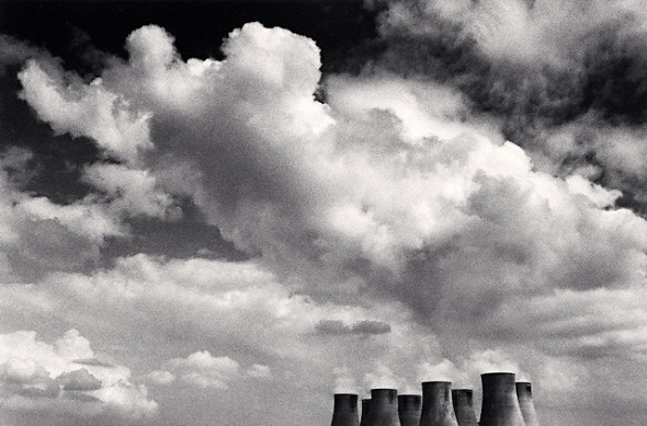 Ratcliffe Power Station, Study 25, Nottinghamshire, by Michael Kenna 1984