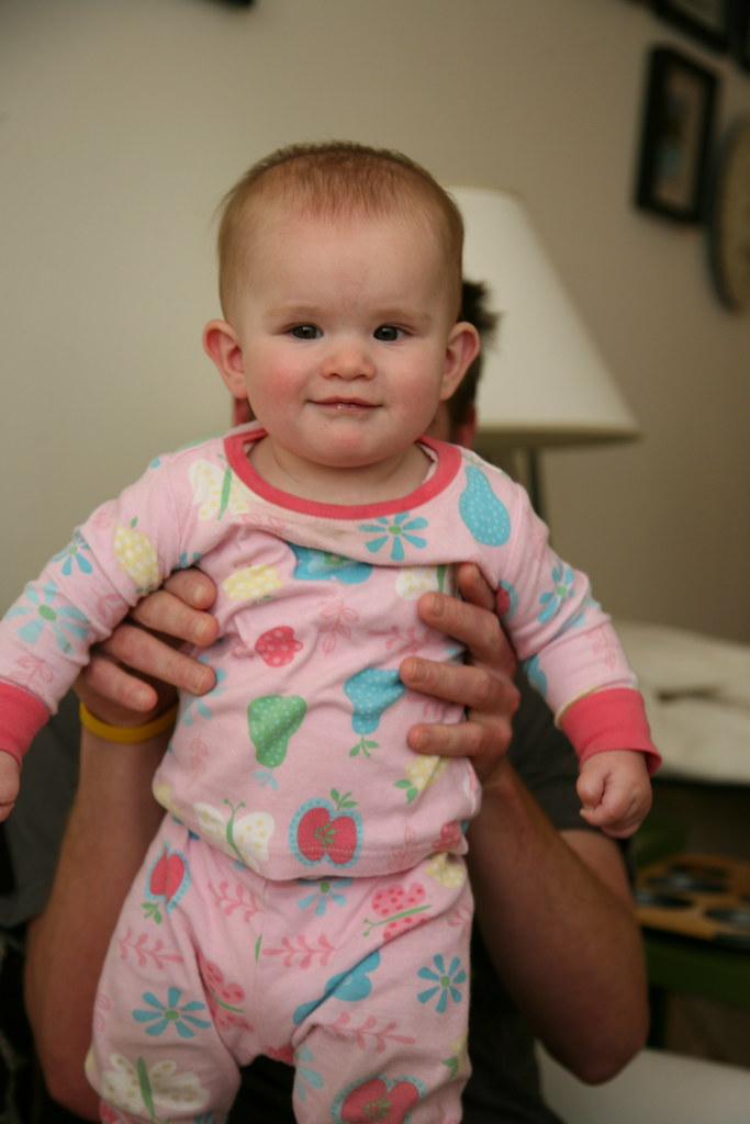Baby Lucy in PJs // IMG_3236