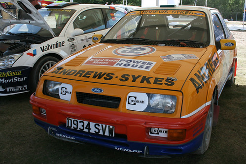 Ford Sierra Cosworth Rally Car
