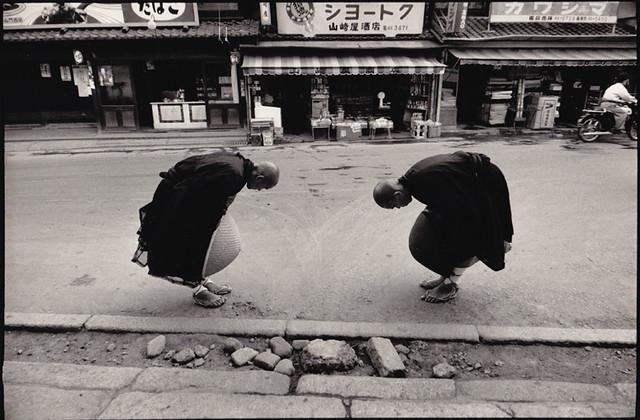 Two Monks, Kyoto, by René Burri 1961