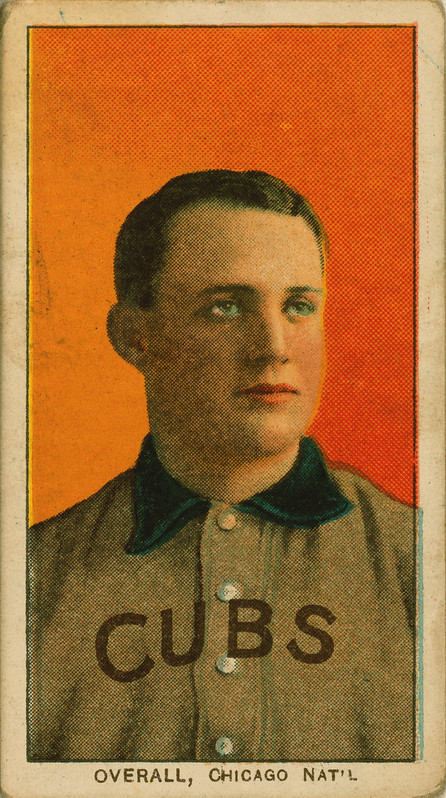 Orval Overall, pitcher, Chicago Cubs, ca. 1910