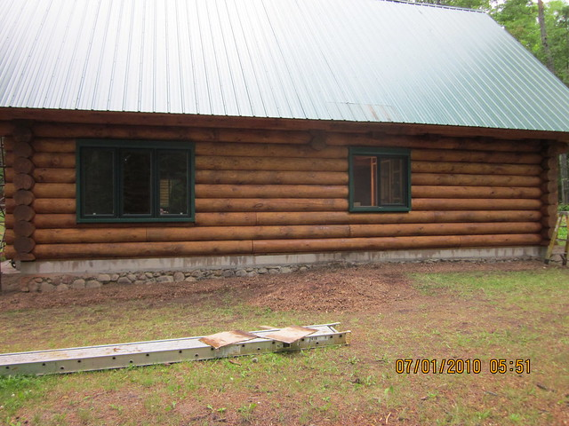 Log Cabin Restoration Flickr Photo Sharing