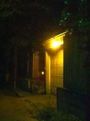 Light Pollution in Alley
