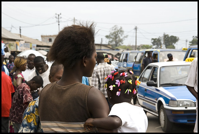 Congo hairstyle, Pointe-Noire in Africa