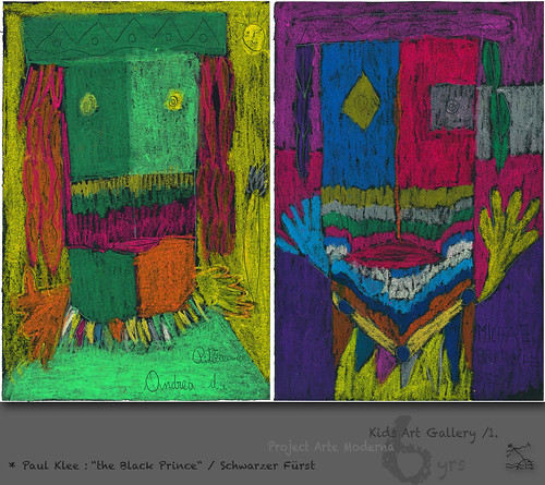 """6 yrs) _1* Paul Klee: """"Schwarzer Fürst"""" /Black Prince by SeRGioSVoX"""