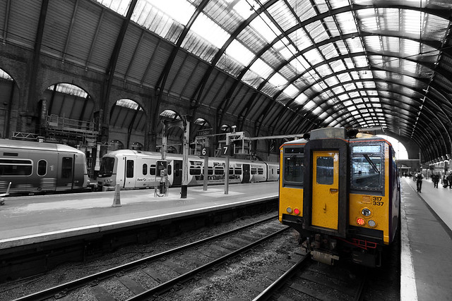King's Cross Train