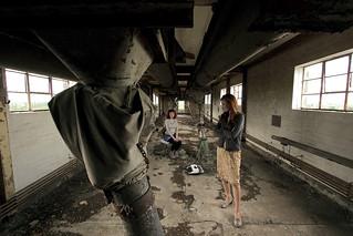 Grain silo music video