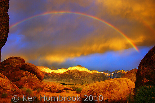 mountain mountains nature sunrise landscape photography rainbow sony ngc scenic sierra photograph alabamahills naturesfinest a900 mywinners colorphotoaward specialshotswelltaken