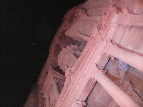The Treasury, Petra by Night