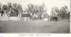 Mallala Croquet lawn and the rotunda on the left