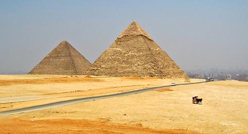 Egypt - Pyramids of Giza أهرامات الجيزة