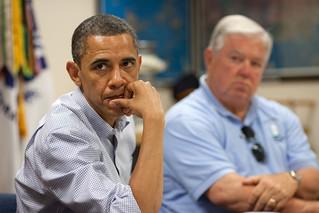 President Obama At BP Hearing