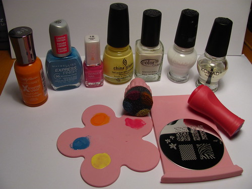What I used for LiLo nails