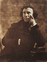 Sir John Steell, Sculptor, by Robert Adamson, David Octavius Hill 1845