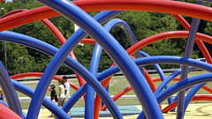 recreation, outdoor recreation, leisure, public space, playground, blue, park,