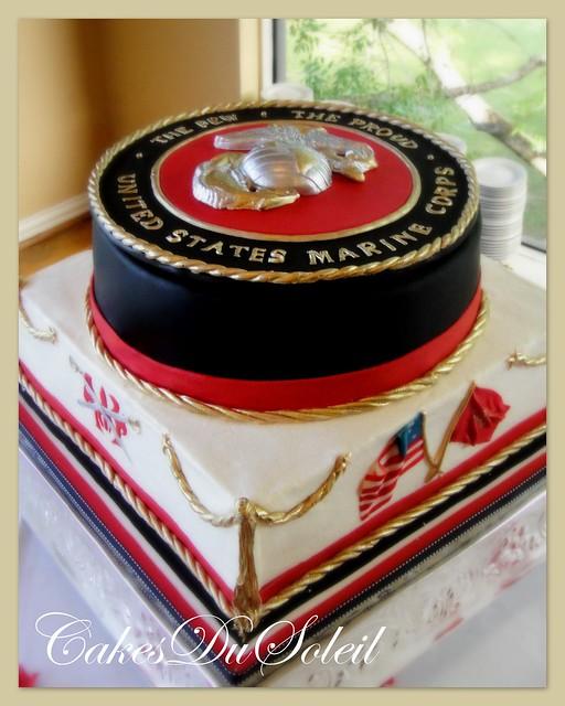 Usmc Cake Decorations