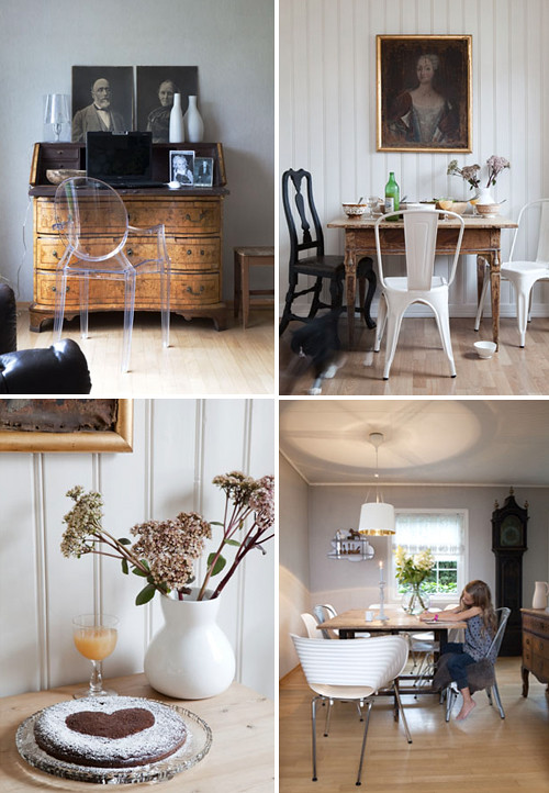 Antique Mixed With Modern Furniture The Style Files