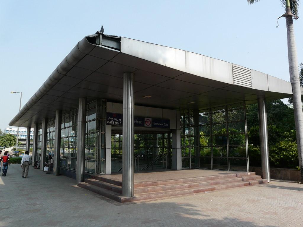 Kashmiri Gate Metro Station Route Kashmiri Gate Metro Station