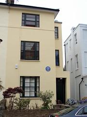 Photo of Arthur Hugh Clough blue plaque