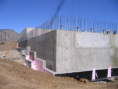 Colorado School of Mines Recreation Center Construction - April 2006