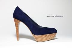 basic pump, outdoor shoe, textile, footwear, purple, shoe, high-heeled footwear, cobalt blue, electric blue, suede,